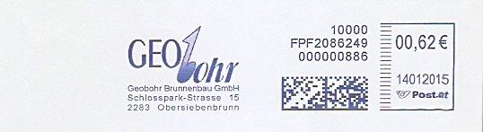 Freistempel Österreich FPF2086249 Obersiebenbrunn - GEObohr Brunnenbau GmbH (#285)