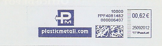 Freistempel Österreich FPF4081482 Wien - PM  plasticmetall.com (#279)