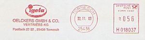 Freistempel H018037 Tornesch - Oelckers GmbH (#224)