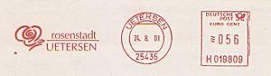 Freistempel H019809 Uetersen - Rosenstadt (Abb. Rose) (#227)