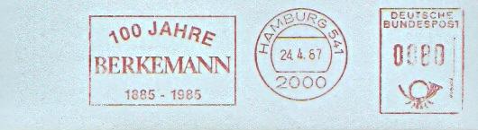 Freistempel Hamburg - 100 Jahre Berkemann (#30)