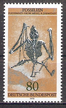 BRD 974 ** Fossilien - Fledermaus (2017680)