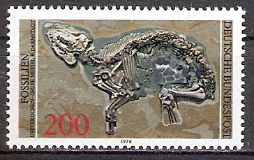 BRD 975 ** Fossilien - Urpferdchen (2017681) 0
