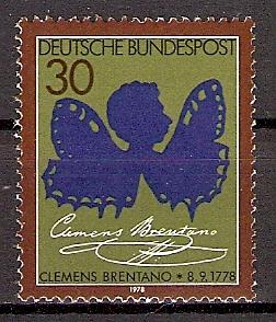 BRD 978 ** Clemens Brentano (2015152) 0
