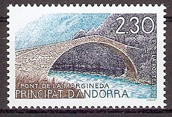 Andorra (franz.) 406 ** Tourismus 1990 / Brücke von La Margineda (20199)