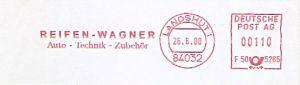 Freistempel F50 5265 Landshut - Reifen Wagner / Auto Technik Zubehör (#402)