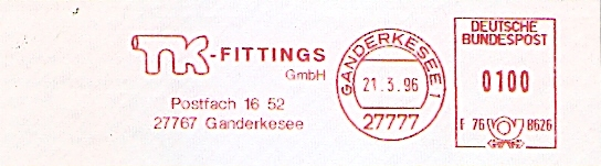 Freistempel F76 8626 Ganderkesee - TK-Fittings GmbH (#403)