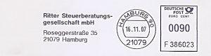 Freistempel F386023 Hamburg - Ritter Steuerberatungsgesellschaft (#411)