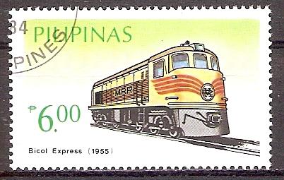 Philippinen 1641 o Diesellokomotive Bicol Express 1955 (201944)