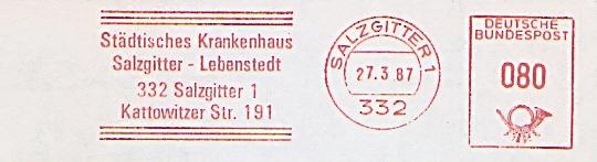 Freistempel Salzgitter - Städtisches Krankenhaus Salzgitter-Lebenstedt (#441)