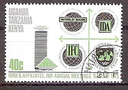 Ostafrikanische Gemeinschaft 255 A o Jahreskonferenz des Internationalen Währungsfonds und der Weltbank in Nairobi 1973 (201961)