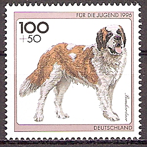 BRD 1838 ** Jugend 1996 - Bernhardiner (201989)