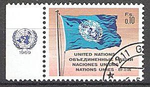 UNO-Genf 2 o UNO-Flagge 1969 (2019108)