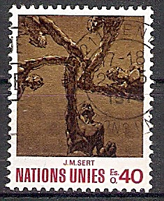 UNO-Genf 28 o Kunstwerke für die Vereinten Nationen 1972 (2019113)