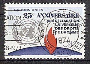 UNO-Genf 35 o 25. Jahrestag der Allgemeinen Erklärung der Menschenrechte 1973 (2019114)