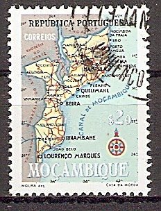 Mocambique 442 o Landkarte (2019123)