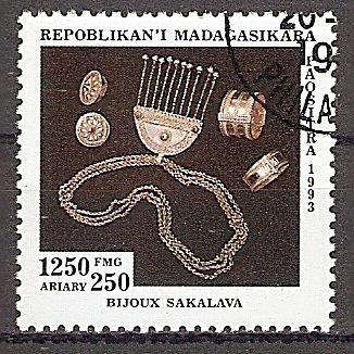 Madagaskar 1668 o Kunsthandwerk - Sakalava-Schmuck (2019124)