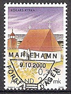 Aland 182 o St.-Anna-Kirche / Kökar 2000 (2019142)