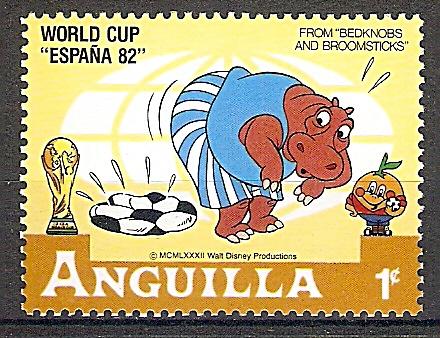 Anguilla 501 Fußballweltmeisterschaft Spanien 1982 Walt Disney Figuren 2019144