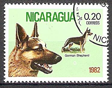 Nicaragua 2247 o Deutscher Schäferhund (2019146)