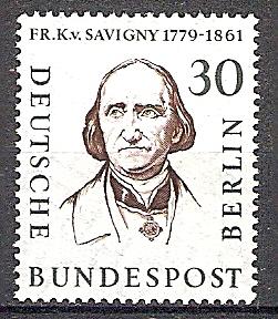 Berlin 170 ** Friedrich Carl von Savigny 1957 (2019147)