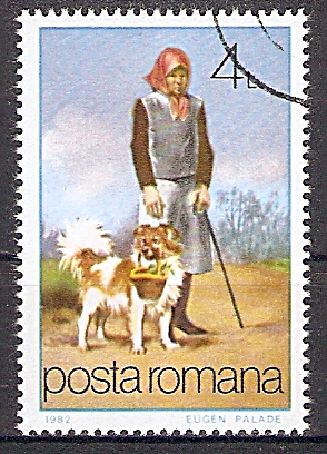 Rumänien 3854 o Hund als Helfer (2019148)