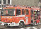 AK Stuttgart Hofen - Feuerwehr Fahrzeug 17/42-1 (500)