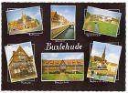 AK Buxtehude - Rathaus, Westfleet, Gymnasium, Museum, Berufsschule, Hafen und Sankt Peter (411)