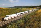 AK ICE 592 - Elektro-Schnelltriebwagenzug - Intercity Express  401 019 + 401 519 der Deutschen Bundesbahn, als ICE 592 \Münchner Kindle\ (Hamburg-München) am 25.8.1991 bei Schützingen (1310)