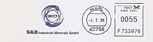 Freistempel F733976 Marl - IKO - S&B Industrial Minerals GmbH (#471)