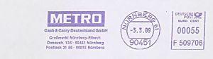 Freistempel F509706 Nürnberg - METRO Cash & Carry Deutschland GmbH - Großmarkt Nürnberg-Eibach (#475)