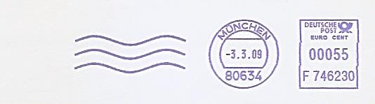 Freistempel F746230 München (Abb. 3 Wellenlinien) (#479)