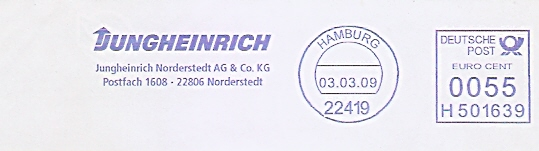Freistempel H501639 Hamburg - JUNGHEINRICH Norderstedt AG & Co. KG (#480)