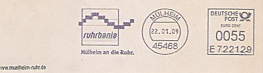 Freistempel E722129 Mülheim - ruhrbania - Mülheim an die Ruhr (#485)