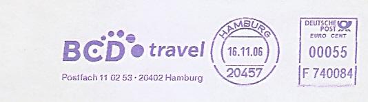 Freistempel F740084 Hamburg - BCD travel (#486)