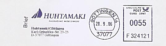 Freistempel F324121 Göttingen - Huhtamaki Packaging Worldwide (#487)