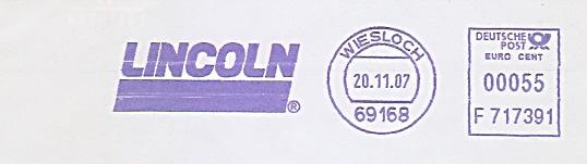 Freistempel F717391 Wiesloch - LINCOLN (#488)