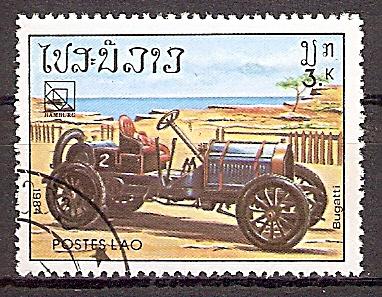 Laos 754 o Bugatti (2019188)