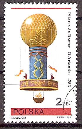 Polen 2729 o Heißluftballon 1783 (2019189)