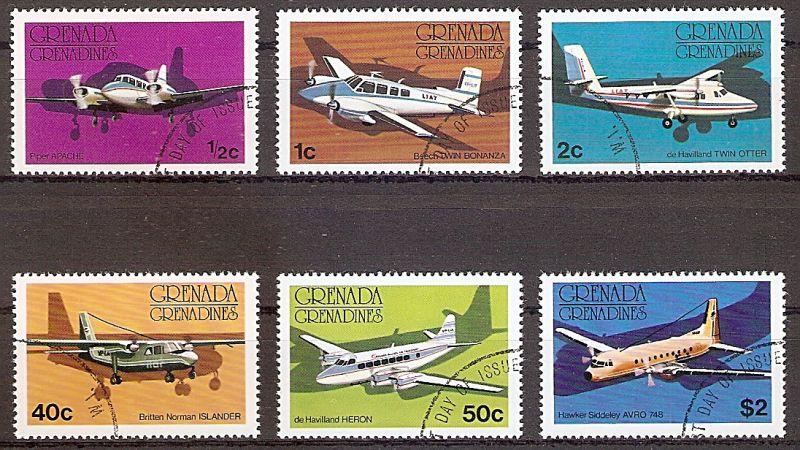 Grenada-Grenadinen 186-191 o Flugzeuge (2019194)