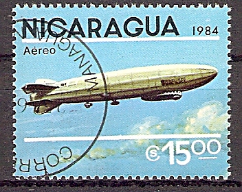 "Nicaragua 2520 o Luftschiff LZ 120 ""Bodensee"" (2019198)"