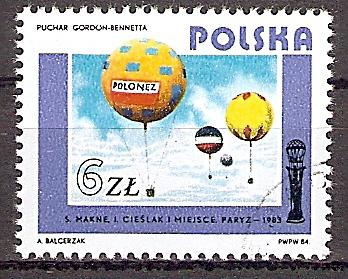 Polen 2941 o Ballonsportmeisterschaft um den Gordon-Bennett-Pokal (2019199)