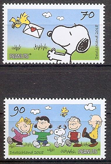 BRD 3369-3370 ** Peanuts & Snoopy (2019204)