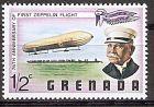 """Grenada 872 ** Zeppelin-Luftschiff """"LZ1"""", Graf Ferdinand von Zeppelin (2019219)"""