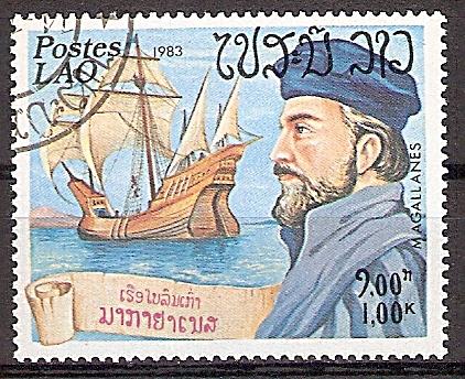 Laos 676 o Seefahrer Magellan (2019220)