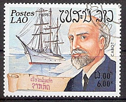 Laos 681 o Seefahrer Jean-Baptiste Charcot (2019221)