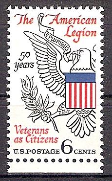 """USA 979 ** 50 Jahre Veteranen-Vereinigung """"American Legion"""" 1969 (2019234)"""