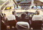 AK INTERFLUG - Piloten im Cockpit der IL 62 (1052)