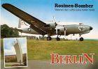 AK Berlin - Rosinen Bomber - Veteran der Luftbrücke 1948-1949 - Luftbrückendenkmal (707)