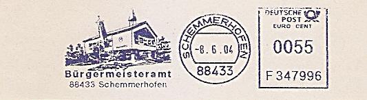 Freistempel F347996 Schemmerhofen - Bürgermeisteramt (Abb. Gebäude) (#525)